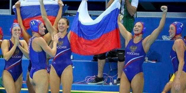 2016 Rio Olympics - Water Polo - Final - Women's Bronze Medal Match Hungary v Russia - Olympic Aquatics...