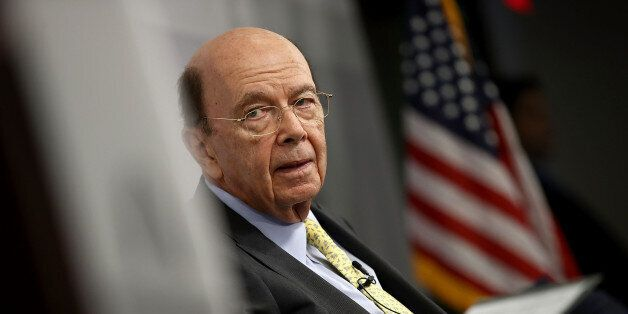 WASHINGTON, DC - MAY 31: U.S. Commerce Secretary Wilbur Ross speaks at the Bipartisan Policy Institute...