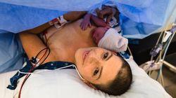 유방암과 사투 중인 엄마가 아기를 낳는