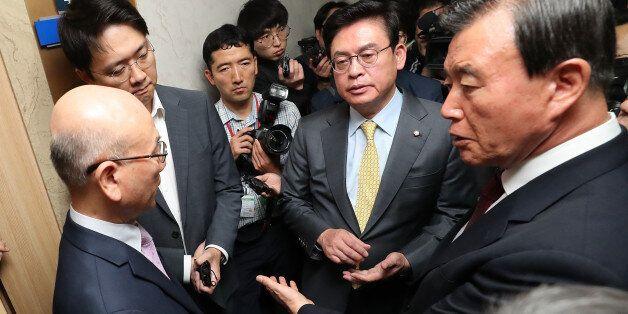자유한국당이 국정감사를 중단하고 '긴급소집령'을 내린 오늘 상황을