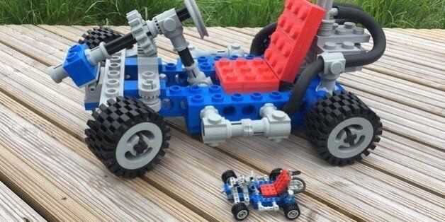 3D프린터로 거대한 레고 시리즈를 만들어