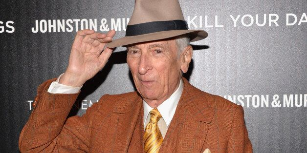 NEW YORK, NY - SEPTEMBER 30: Writer Gay Talese attends The Cinema Society and Johnston & Murphy screening...