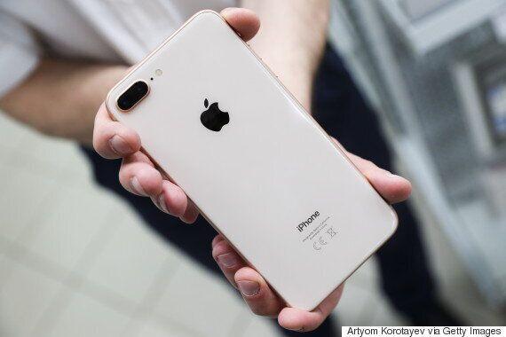 애플이 아이폰8 플러스 배터리 사고 사례를