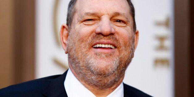 The Weinstein Company Co-Chairman Harvey Weinstein arrives at the 86th Academy Awards in Hollywood, California...