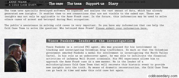 '누가 안네 프랑크를 배신했나?' 전 FBI 요원의 팀이 조사에