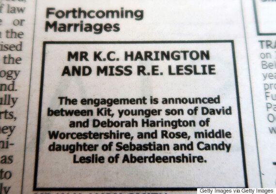 키트 해링턴과 로즈 레슬리가 약혼을 발표한 방법은