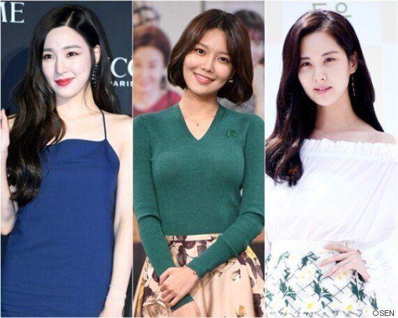 수영·서현·티파니가 SM엔터테인먼트를