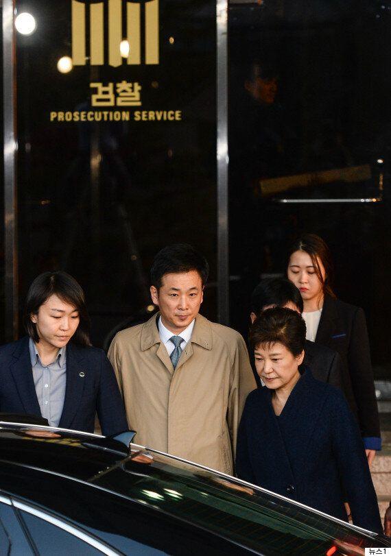 박근혜 변호인 전원 사퇴...유영하