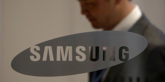 The logo of Samsung Electronics is seen at its office building in Seoul, South Korea South Korea, October...