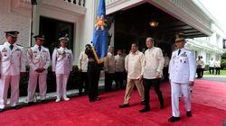 필리핀 대통령궁에서 총격이