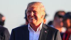 트럼프가 허리케인 피해 주민들에게 선물한