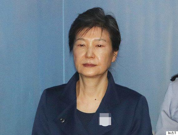 박근혜 전 대통령은 오늘 재판에 출석하지
