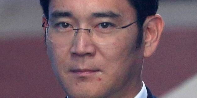 Lee Jae-yong, vice chairman of Samsung Electronics Co., arrives for his trial at the Seoul Central District...