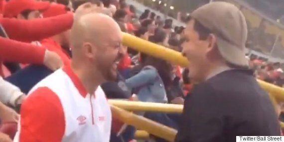 한 아빠가 시각장애인인 아들에게 미식축구 경기를 '보여준'