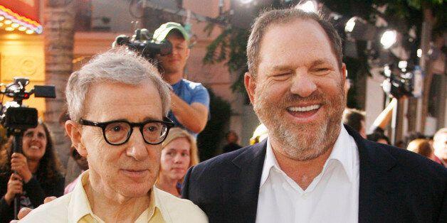 Woody Allen, director of the new