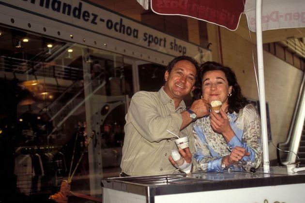 Blanca y 'Paquito' Fernández