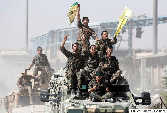 쿠르드·아랍 연합이 'IS 수도' 시리아 라카를