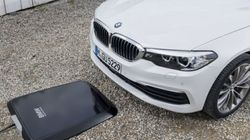 BMW가 전기차 전용 무선충전기를