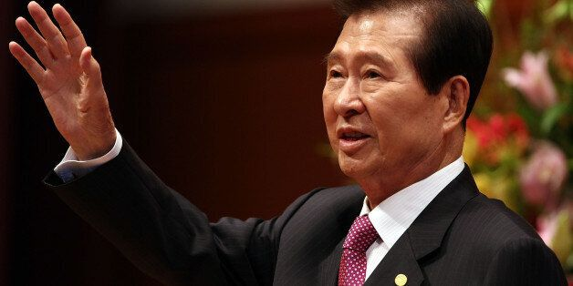 KYOTO, JAPAN - OCTOBER 30: Former South Korean president and former Nobel Peace Prize Winner Kim Dae-Jung...