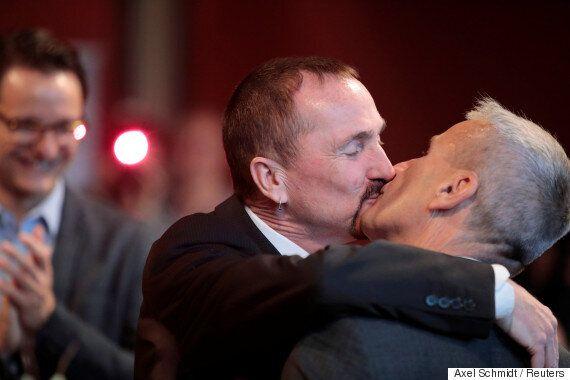 독일에서 동성결혼 법제화 이후 첫 결혼식이