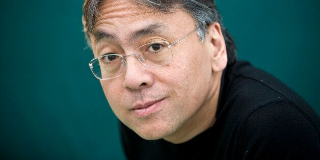 HAY-ON-WYE, UNITED KINGDOM - MAY 29: Author Kazuo Ishiguro poses for a portrait at The Hay Festival on...