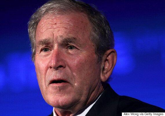 조지 W. 부시가 거의 대놓고 트럼프를