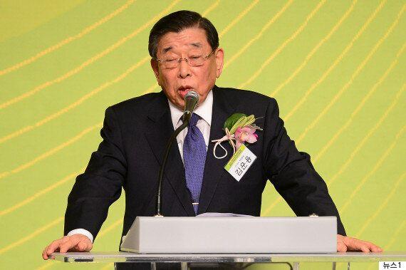'체육계의 거목' 김운용 전 IOC 부위원장이