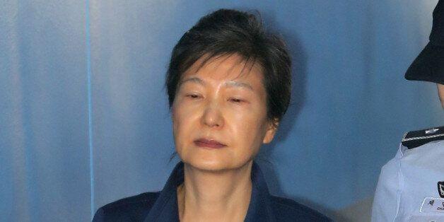 박근혜 전 대통령이 법정에서 처음으로 심경을