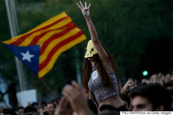 분리 독립 투표 앞둔 카탈루냐 정부가 스페인 정부를 북한에