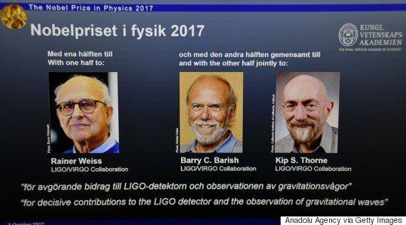 노벨 물리학상 수상한 미국 과학자 3명