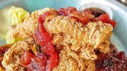 유명 레스토랑이 파파이스 치킨을 쓰다