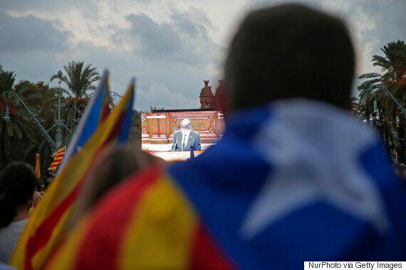 스페인 카탈루냐 자치정부가 독립 선언을