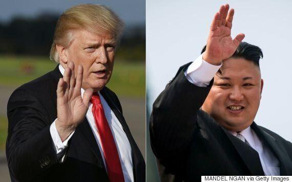 김정은과 트럼프를 모두 '미친놈'이라고 말하면 안
