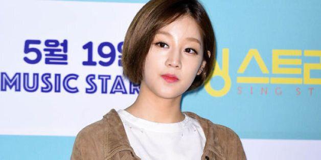 가수 박보람이 모친상을