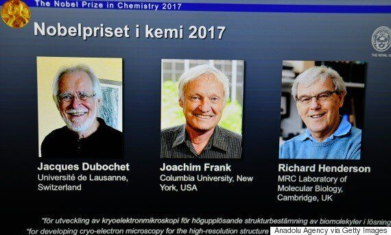 올해 노벨화학상 수상자는 '저온전자현미경' 기술을
