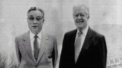 미-북 중재를 위해 방북을 추진중인 역사적