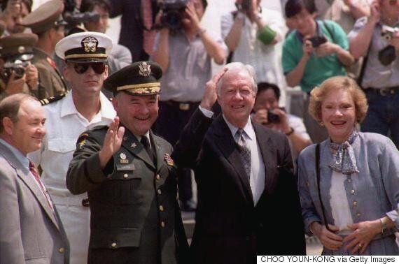 지미 카터 전 미국 대통령이 미국-북한 중재를 위해 방북을 추진