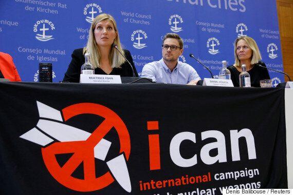 노벨평화상 수상한 ICAN이 트럼프·김정은을 향해 내놓은
