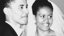 버락이 미셸 오바마에게 보낸 결혼 25주년