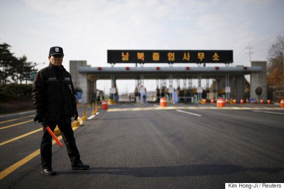 북한이 개성공단을 불법가동 중이라는 보도가