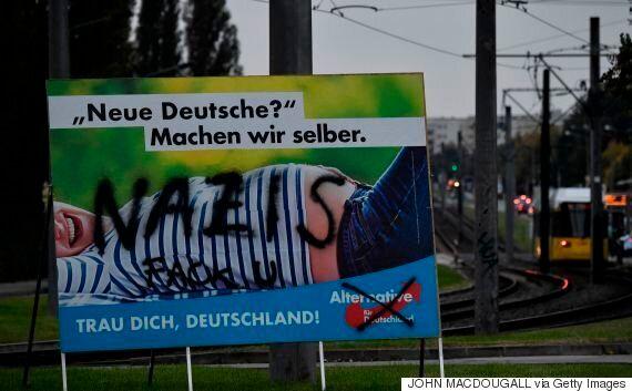 독일 총선 결과는 동독과 서독이 아직도 분열되어 있다는 사실을