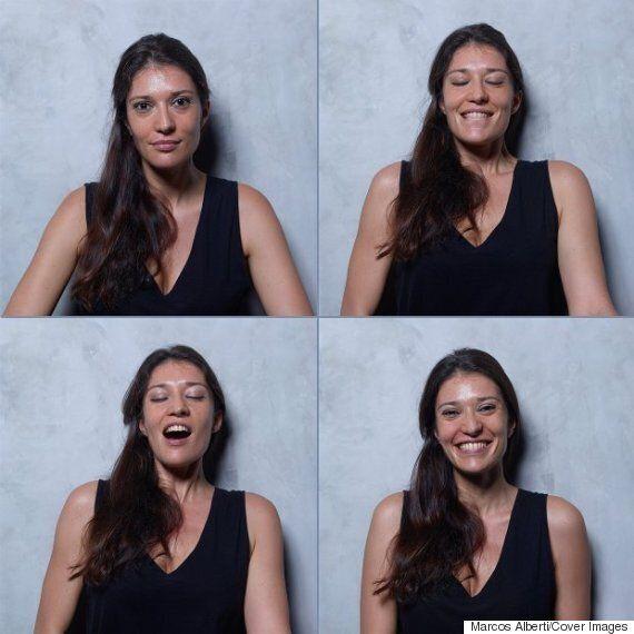 오르가슴을 느끼는 여성들의 표정변화를 찍었다(13명의