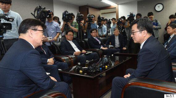 김동연 경제부총리 만난 기독교계가 '종교인 과세'에 대해 밝힌