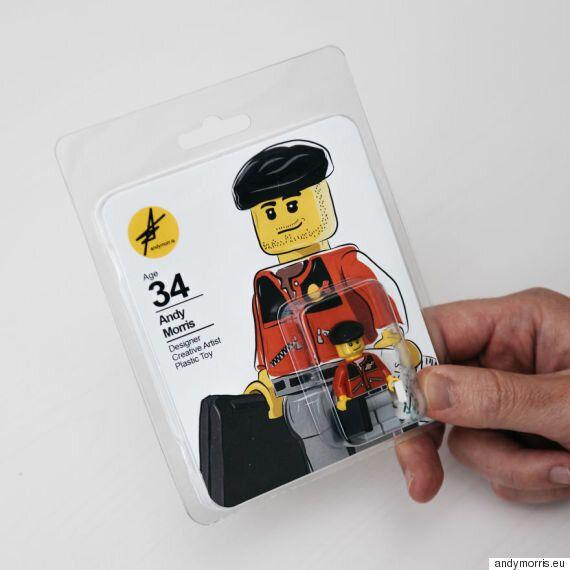 이 구직자는 레고 피겨로 이력서를