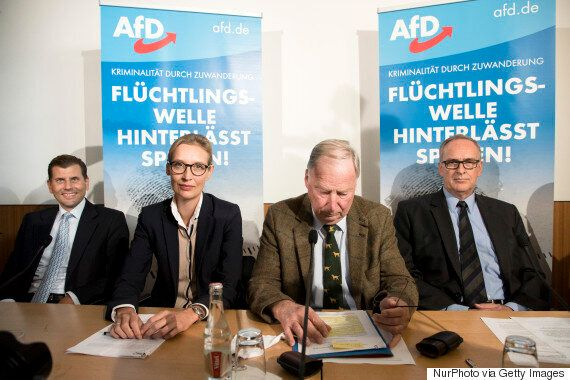 독일 극우 정당의 원내 진출 가능성이 높아지고