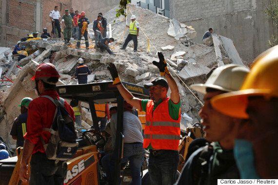 멕시코에서 또 7.1 강진 발생, 최소 119명
