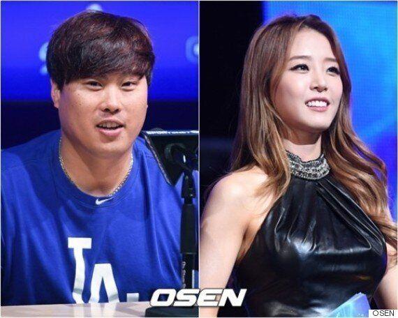 류현진♥배지현, 열애 첫 소감..