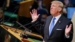 트럼프 연설에 '막말 대응'이