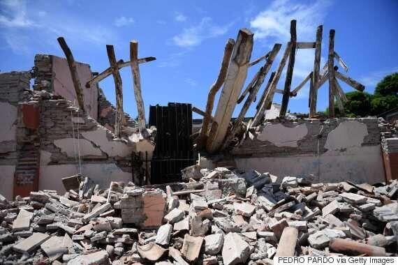 멕시코 강진으로 인한 사망자 수가 90명으로