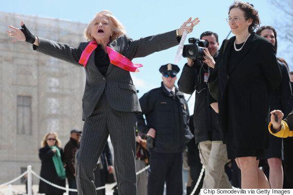 미국 동성결혼 합헌을 이끈 에디스 윈저